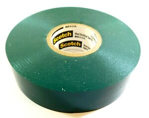 3m Electrical Tape Rolls 35 Green 3 4 X 66 X 0 007 054007 10851 pack Of 9