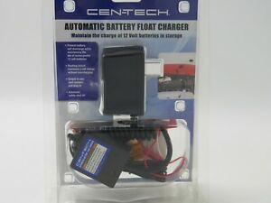 Cen Tech Automatic Battery Float Charger 12volt Item 42292 New In Package