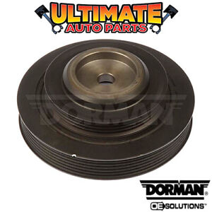 Harmonic Balancer Crank Pulley 3 0l V6 Dohc For 92 96 Dodge Stealth