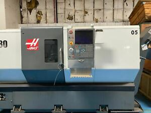 Haas St 30 Cnc Lathe 2014 Tool Presetter Programmable Tailstock