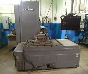Cincinnati Cintimatic Cnc Horizontal Boring Mill Anilam Cnc 4th Axis 1997 Upg