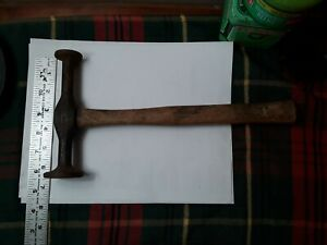 Vintage Streamline Auto Body Door Skin Hammer Tool Usa