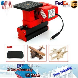 Mini Lathe Cut Off Saw Tool Machine Woodworking Moulding Make 24w Sawing Jig Saw