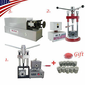 Us Dental Flexible Denture Injection System Machine Equipment Heater Free Gift