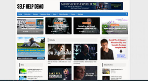 Self help Guides Affiliate Product Website 100 Automated premium Designed