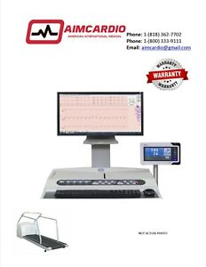 Case Stress Test System With T 2100 Treadmill warranty Included