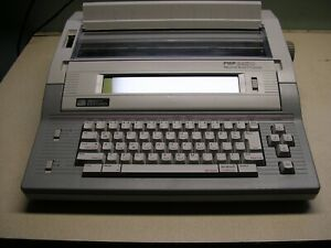 Smith Corona Pwp 2400 With Operator Manual Tutorial Disk 2 Blank Disks