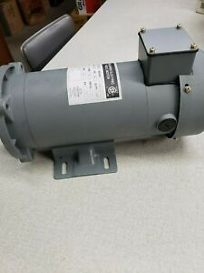 1 Hp Dc Motor 90 Volt 1800 Rpm Shaft 5 8 Shaft Type Keyed tefc 56 C Frame