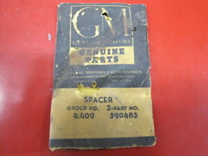 1 Nos Oe Gm Rear Transmission Bearing Inner Spacer 590483 1931 47 All 4 Speed