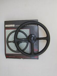 Momo Porsche Design Steering Wheel Made In Italy 360mm 14