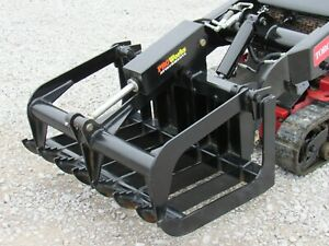 36 Heavy Duty Root Grapple Bucket Attachment Fits Toro Dingo Mini Skid Steer