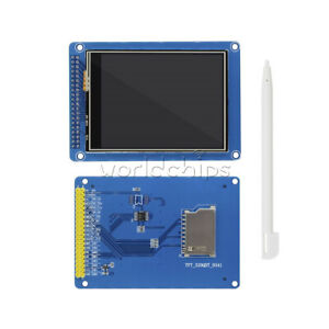 1 2 5pcs 3 2 Inch Tft Lcd Module Display 240x320 Touch Panel Sd Card Controller