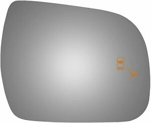 New Convex Passenger Side Replacement Mirror Glass For 2013 2020 Toyota Sienna