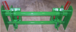 Jd 600 700 Loader Adapter To Skid Steer Attachments With Latches