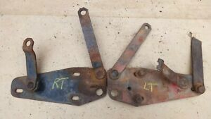 1938 1939 Ford Truck Hood Hinges Original Pair Pickup Panel