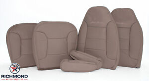 1992 1996 Ford Bronco Eddie driver Passenger Complete Leather Seat Covers Tan