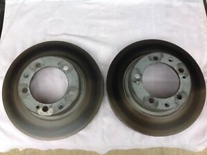 2 Zimmermann Z Coat Disc Brake Rotors Front 95135104102 Porsche 944 Turbo 968