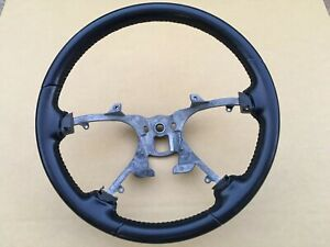 2007 2014 Chevy Silverado Gmc Sierra Steering Wheel Black Leather Oem