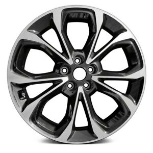 Aluminum Alloy Wheel Rim 18 Inch For 2019 Chevy Cruze 5 Lug 105mm 10 Spokes
