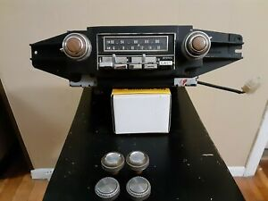 Olds Cadillac Chevy Truck Camaro Trans Am Gm Delco Am Fm Stereo 8 Track Radio