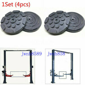 Car Lifts Lift Arm Circular Gasket Rubber Weld Frame Rubber Wear Resistant 1 Set