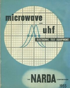 Narda Corp 1955 Catalog Microwave Uhf Electronic Test Equipment Price Guide
