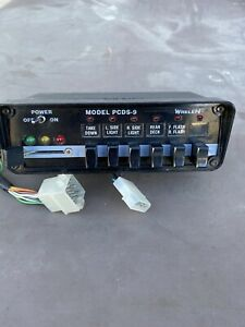 Whelen Pcds 9 Lightbar Controller For Edge 9000 Fire Truck police A