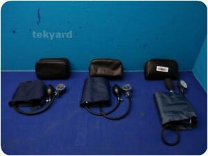 Sphygmomanometer Blood Pressure Patient Monitor Lot Of 3 232967