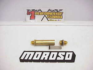 Moroso 10 An Inline High Flow Coarse Stainless Steel Screen Oil Filter M1