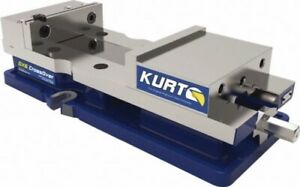 Kurt 6 Vise For Cnc bridgeport Milling Machine 9 Capacity Dx6