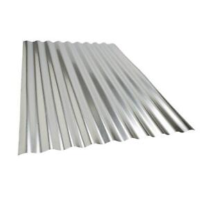 Unit Of 3 Sheets Of Corrugated Metal Roof Sheets Galvanized Metal Steel Panels