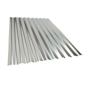 9pc Sheets Of Corrugated Metal Roof Sheets Galvanized Metal Steel Panels 36x26 5