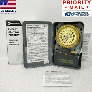 new Genuine Intermatic T1905 Spdt 24 Hour Electro Mechanical Time Switch