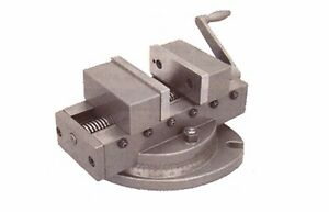 Self Centering Milling Machine Vise 4 Wide X 4 Capacity With Swivel Base