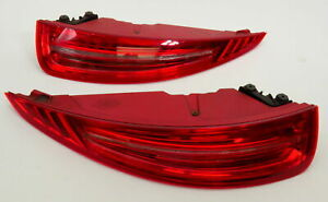 Porsche 991 911 Turbo S Left And Right Side Tail Lights Genuine Pair Rear Lamps