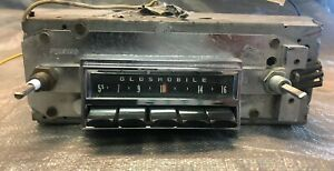 1966 66 67 Oldsmobile Olds F85 Cutlass 442 Am Dash Radio Clean