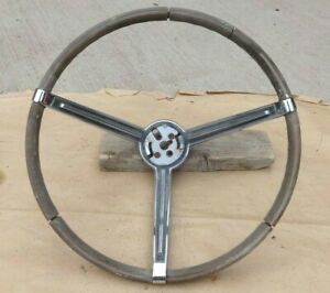 1967 Plymouth Sport Fury Steering Wheel W Horn Ring Buttons Original Mopar