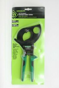 Greenlee 45207 11 Ratchet Action Cable Cutter Center Cut New Made In Germany