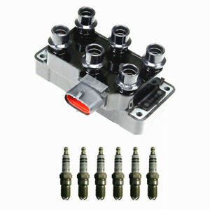 High Performance Ignition Coil Fd480 For Ford Mazda 6 Bosch Spark Plugs 4305
