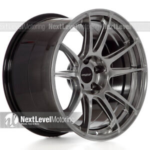 Circuit Cp32 18 9 18 10 5 5 114 3 Hyper Black Wheels Staggered Fits Mustang Gt