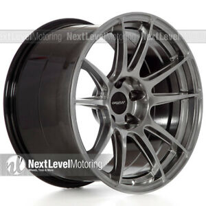 Circuit Cp32 189 1810 5 5 114 3 Hyper Black Wheels Staggered Fits Mustang Gt