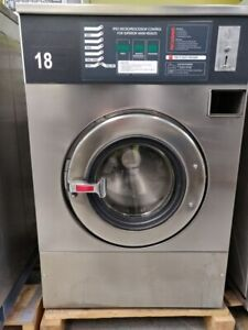 We73c 18lb Ipso Laundromat Washing Machine 220v 3 Ph Reconditioned