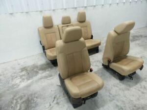 11 16 Ford F250 Leather Seats Crew Cab Leather Seat Set 515153