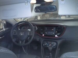 2015 Dodge Dart Steering Wheel Black