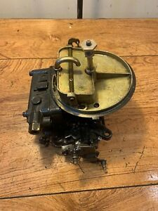 Holley Marine Carburetor 2 Barrel 4 3 Chevy 3853976 Omc Mercruiser 2 Bbl Carb