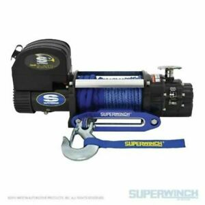 Superwinch 9500 Lbs 12 Vdc 3 8 in X 80ft Synthetic Rope Talon 9 5sr Winch