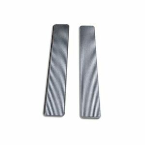 Billet Aluminum 30 Inch Step Plates With Grooved Step Insert 4s09 0505203