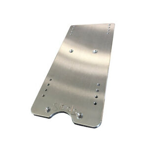 12 Inch Billet Aluminum Seat Base Adapter For Knoedler Air Chief Seats