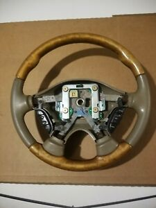 2000 2002 Jaguar S type Steering Wheel With Switches