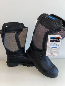 Cosmas Fire Rescue Firefighter Boots Mens Size 12 5